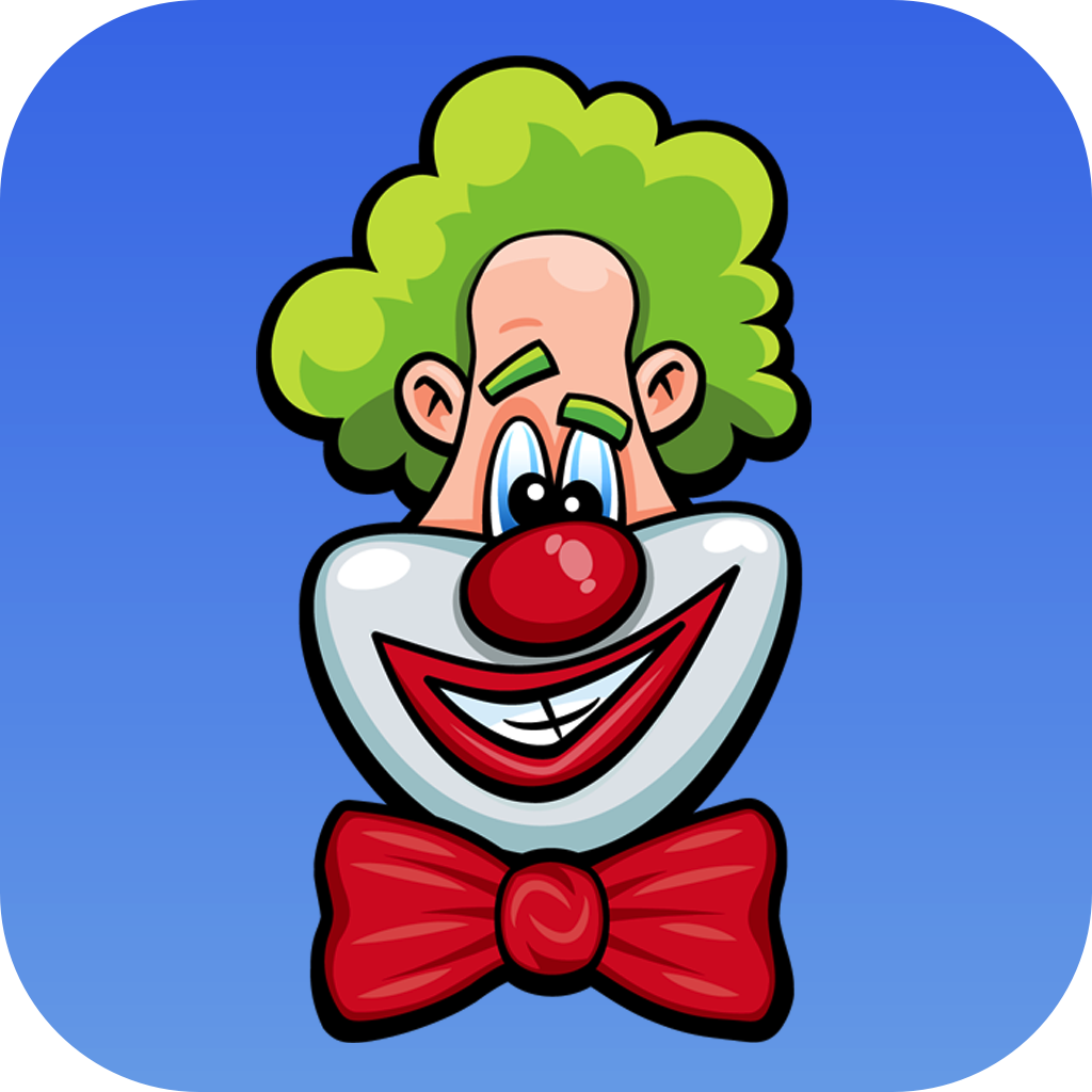 Laugh Clown Professional Balloon Dodger icon image.