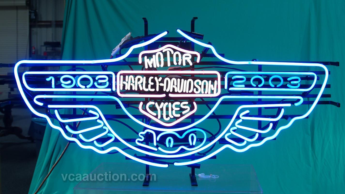 Harley davidson, Neon and Clock on Pinterest