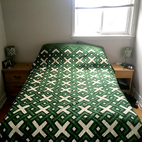 Irish Plaid Quilt - Free Pattern