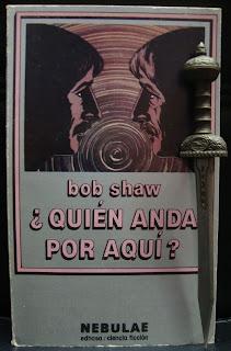 Portada de libro ¿Quién anda por aquí?, de Bob Shaw
