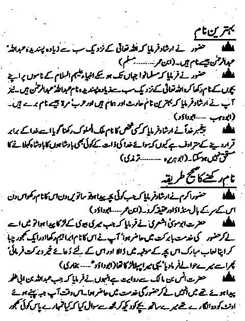 Islami Naam By Afaaq Ahmed