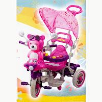 pmb beruang sepeda roda tiga anak