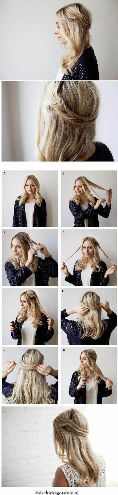 Tutorial Menata Rambut Panjang Dan Pendek Secara Mudah 5