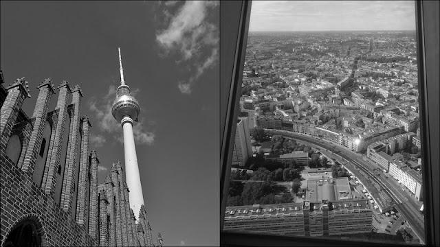 Mit Höhenangst auf den Berliner Fernsehturm - ist machbar