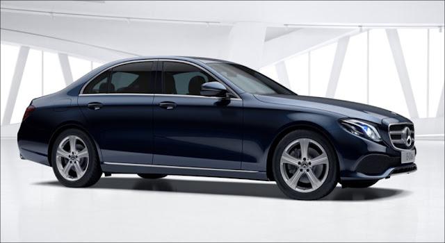 Mercedes E250 2019 thiết kế lịch lãm sang trọng