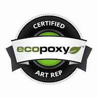 logo for Jane Biven HalfBakedArt US artist rep for EcoPoxy