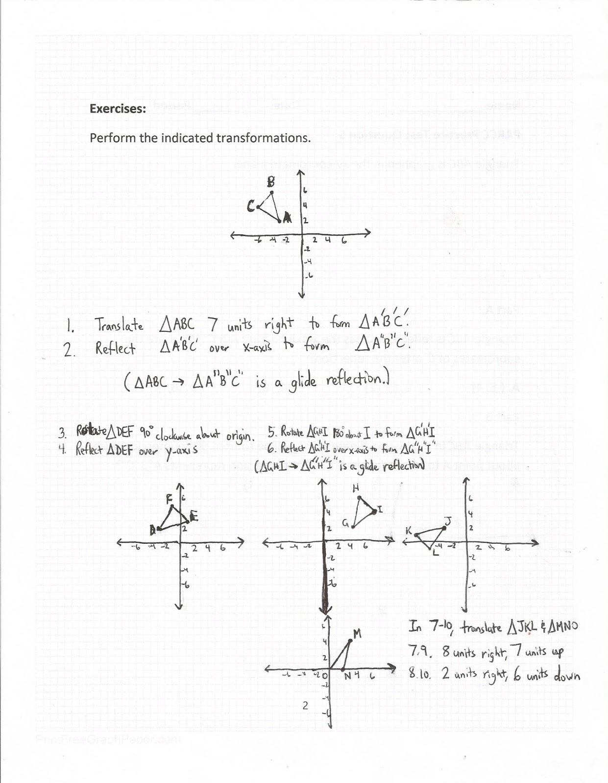 Geometry Common Core Style Parcc Practice Test Question 5 Day 148