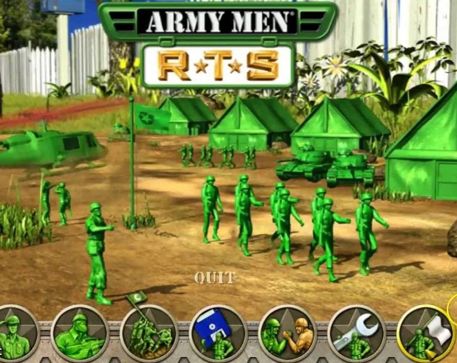 تحميل لعبة الجنود الخضر