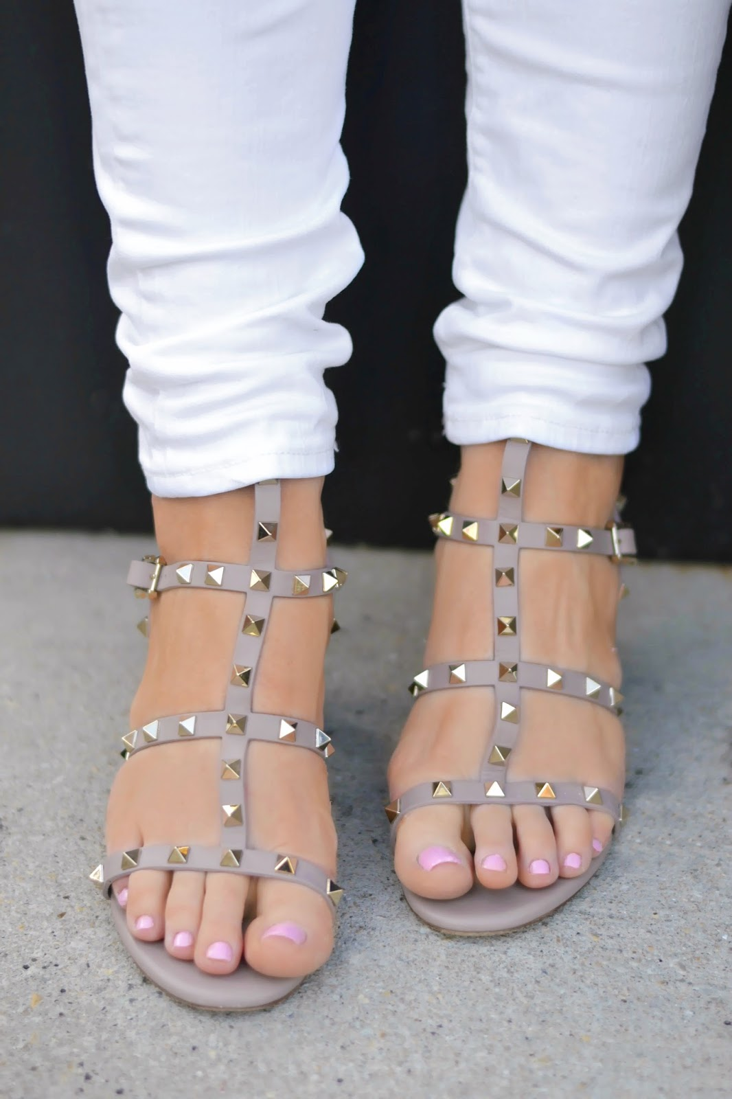 valentino rockstud heeled sandals