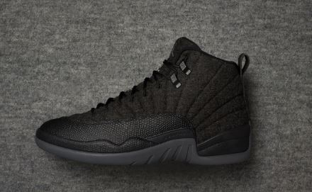 9084f072959f53 THE SNEAKER ADDICT  Air Jordan 12 Wool Retro Sneaker (Detailed ...