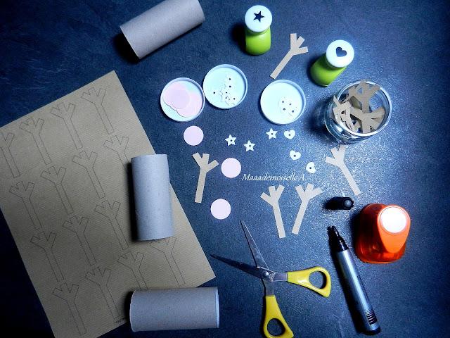 || Activité/DIY : Ronds de serviette en forme de renne pour Noël (+ printable)