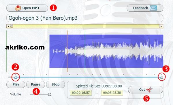 Cara Mudah Memotong MP3 Secara Online tanpa Software