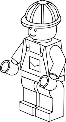 Gambar Mewarnai Lego - 15