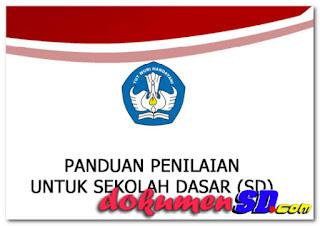 Download Panduan Penilaian Kurikulum 2013 Sekolah Dasar 2017 Format PDF