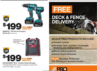 Home Depot Flyer Pro Savings Event August 15 - 28, 2017