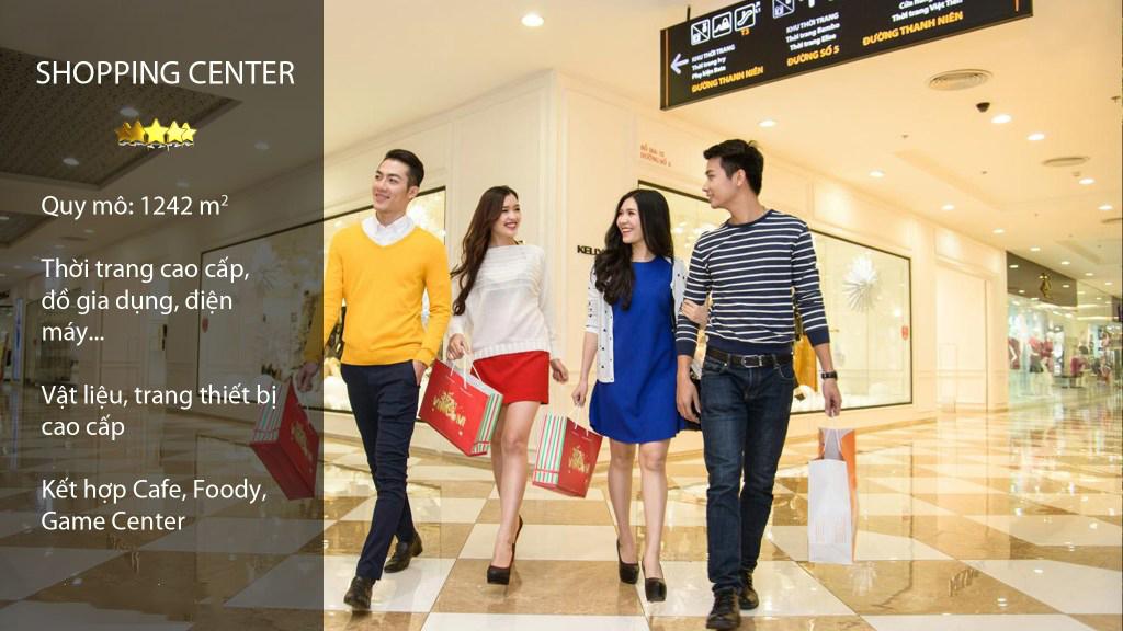 Trung tâm thương mại cao cấp tại dự án đô thị Đài Tư của TNR Holdings Việt Nam