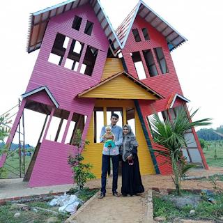 tempat wisata rumah miring pekanbaru