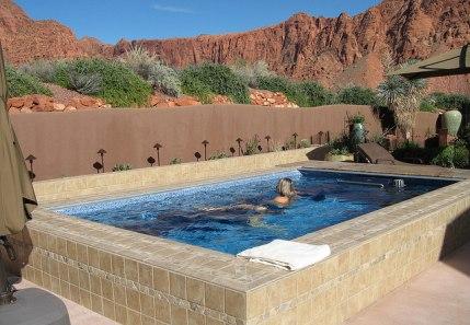 Solar Heated Hot Tubs