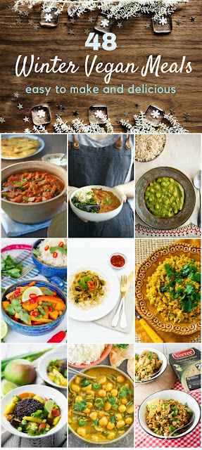 48 easy winter vegan meals including warming dal and curry recipes