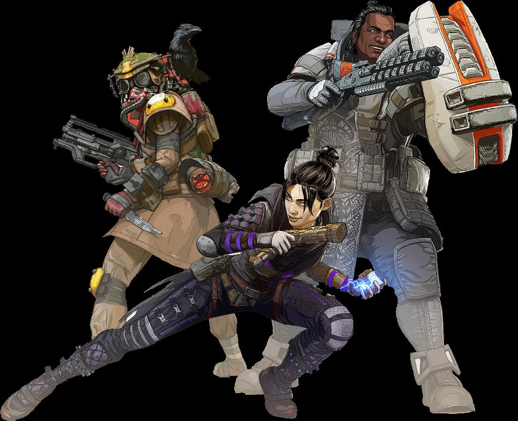 Joe Iz Gaming Blog: Apex Legends All Characters ...