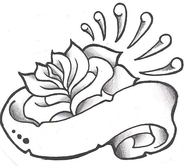 Henna Tattoo Designs: Banner Tattoo Design