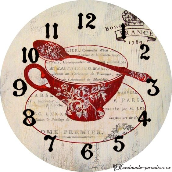 Циферблаты часов. 50 шаблонов для распечатки (3)