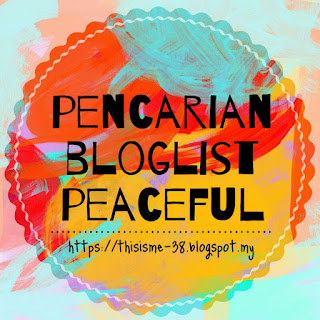 Segmen Pencarian Bloglist Peaceful by Najihah
