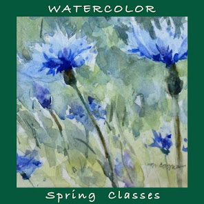 Spring Watercolor Classes Online