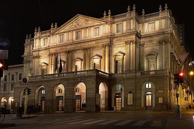 Museu e Teatro La Scala em Milão