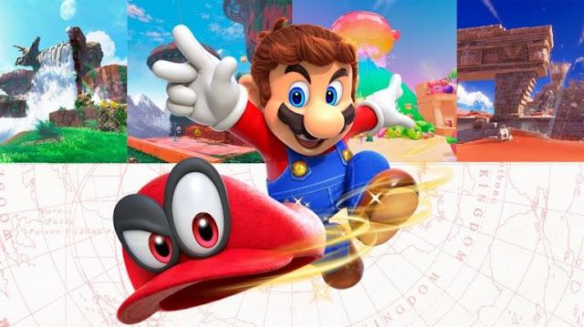 التحميل المسبق للعبة Super Mario Odyssey أصبح متاح الأن على جهاز Nintendo Switch