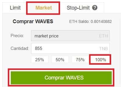 Cómo y Dónde Comprar Moneda WAVES Binance y Coinbase