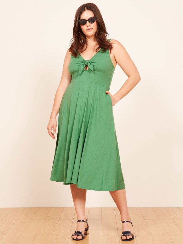 Reformation 'Lucy' Dress in Matcha