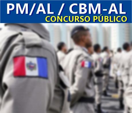 edital  concurso da PM-AL - Polícia Militar/AL e Bombeiros AL