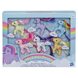 My Little Pony Retro Rainbow Mane 6 Pinkie Pie Brushable Pony