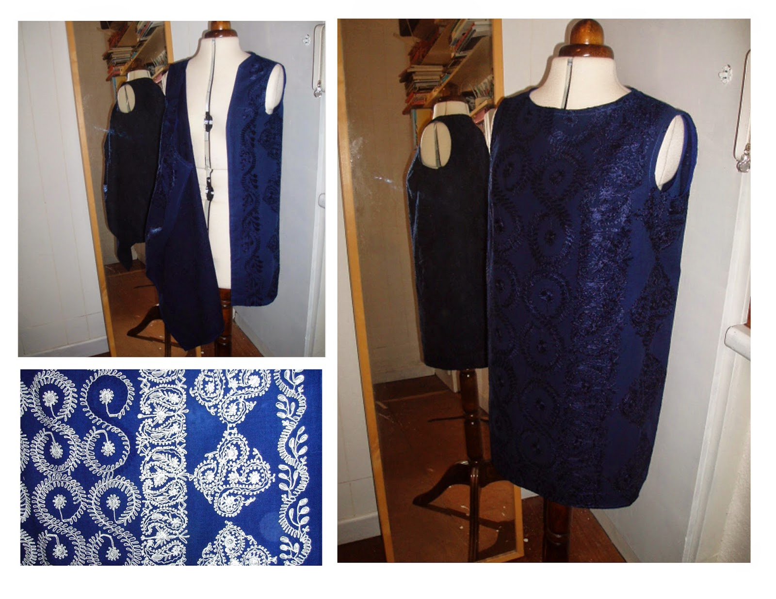 The 3 Armhole dress - table cloth to beach cover up