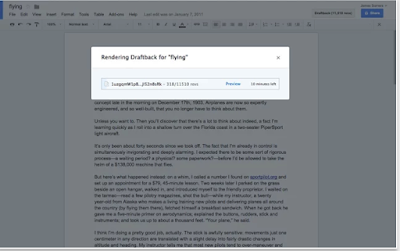 Draftback- Google Docs Add-on to Help You with Your Writing