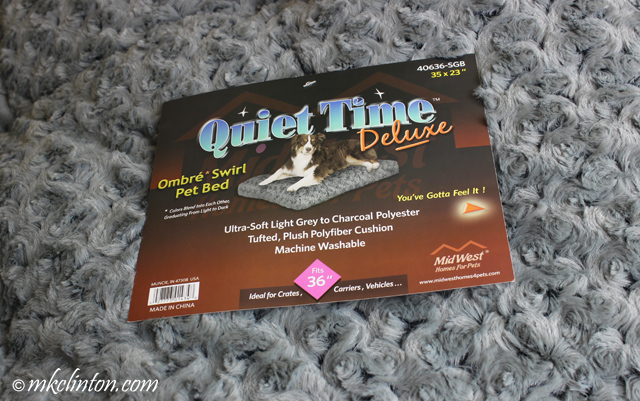Quiet Time Deluxe Pet Bed