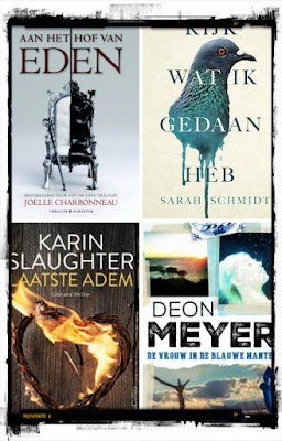 Joelle Charbonneau, Karakter, Sarah Schmidt, Hollands Diep, Karin Slaughter, HarperCollinsHolland, Deon Meyer, CPNB