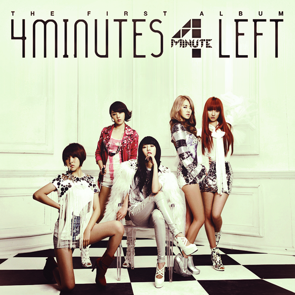 Cover World Mania: 4Minute-4Minutes Left The First Full