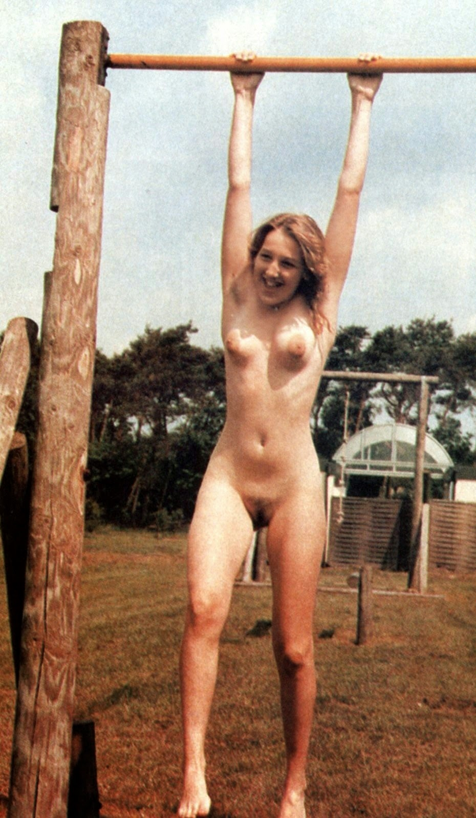 Nudism - Photo - Hq  Nudism Retro Teens Girls-9538