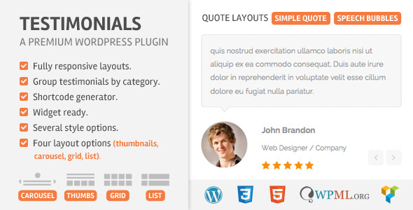 Download - Testimoonials Wordpress Plugin v2.2
