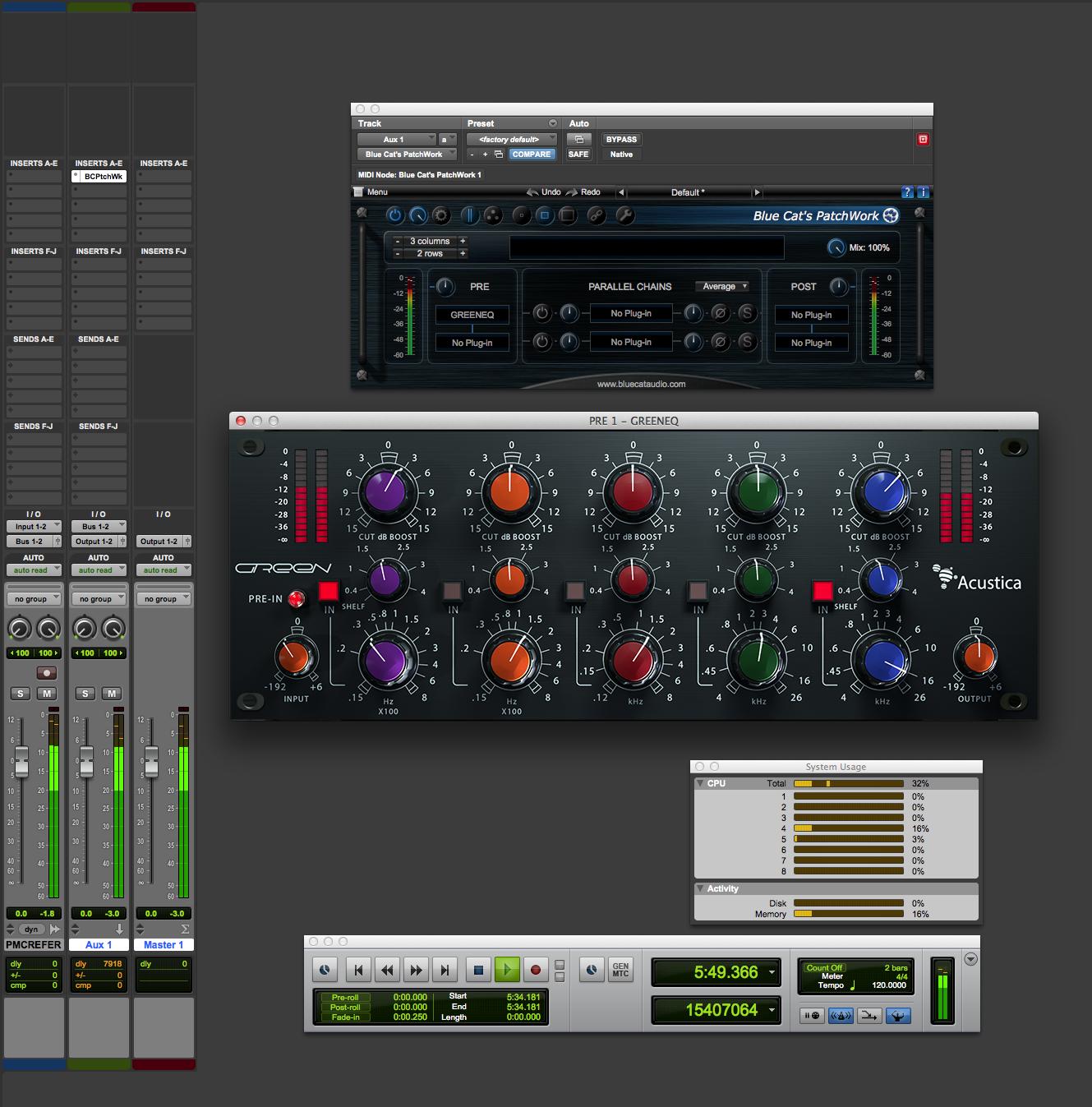 Acustica Audio Green Equalizer - GML (George Massenburg Labs