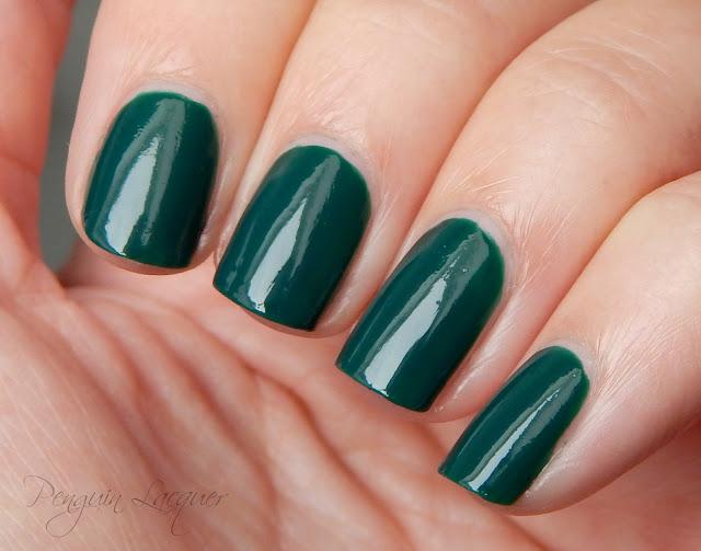 ps love quick dry nail polish 17 emerald zweite nahaufnahme