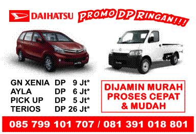 Usaha Mobil Baru Daihatsu - Promo DP Ringan