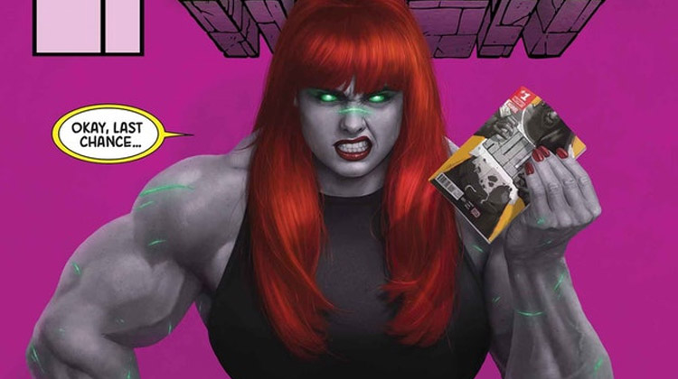 Mary Jane como la nueva Hulka