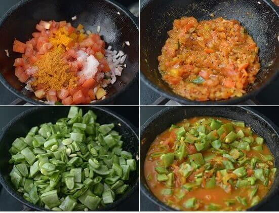 How To Cook Avarakkai Curry - 2