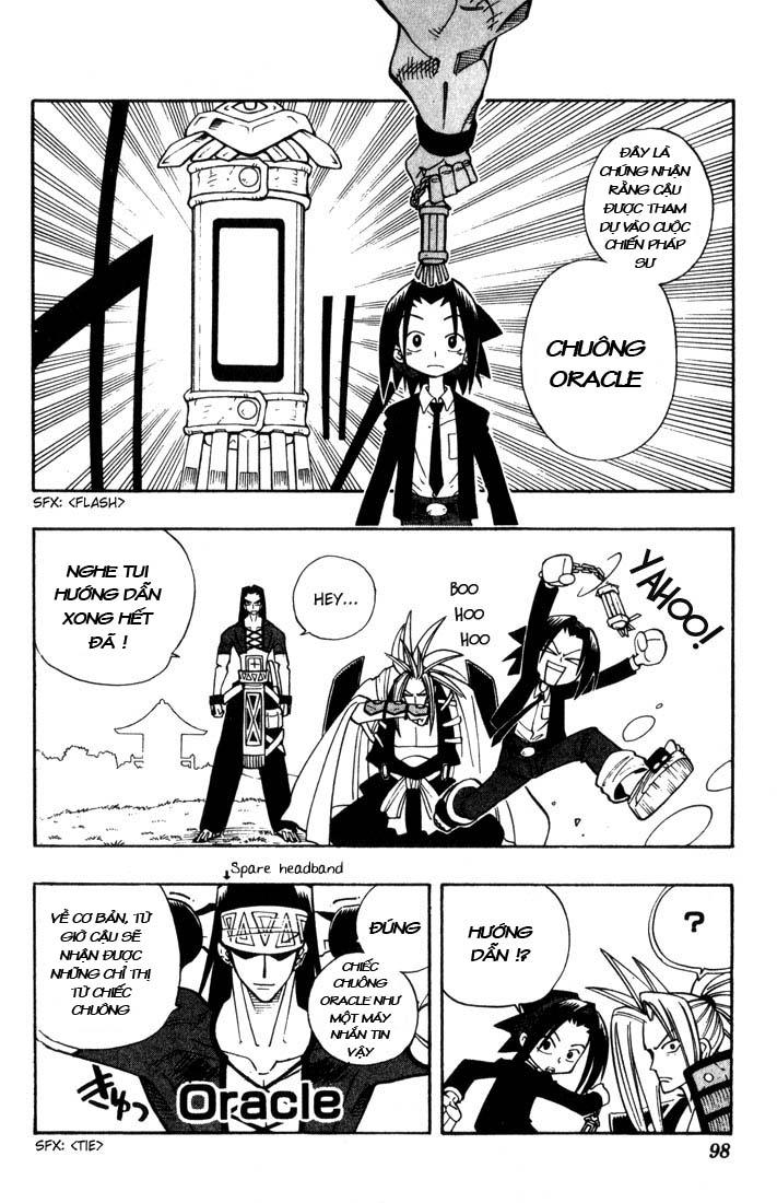 Shaman King [Vua pháp thuật] chap 31 trang 9