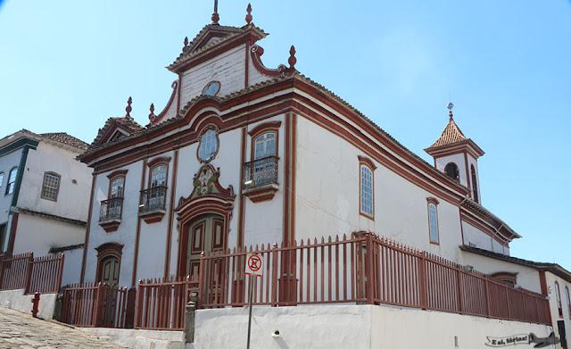 Igreja Nossa Senhora do Carmo, Diamantina, Minas Gerais