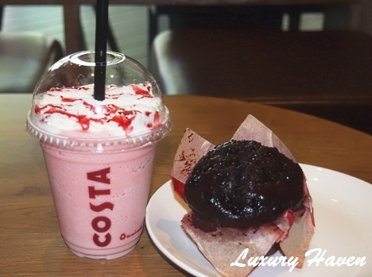 costa coffee singapore chocolate muffin