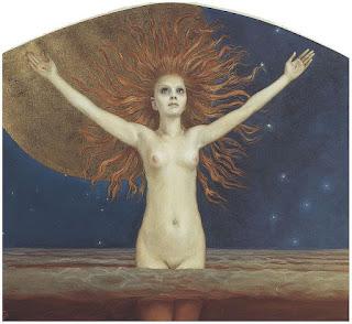 Gallen Kallela, Ad astram, 1907